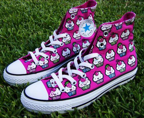 cute cupcake converse shoes craft ideas pinterest