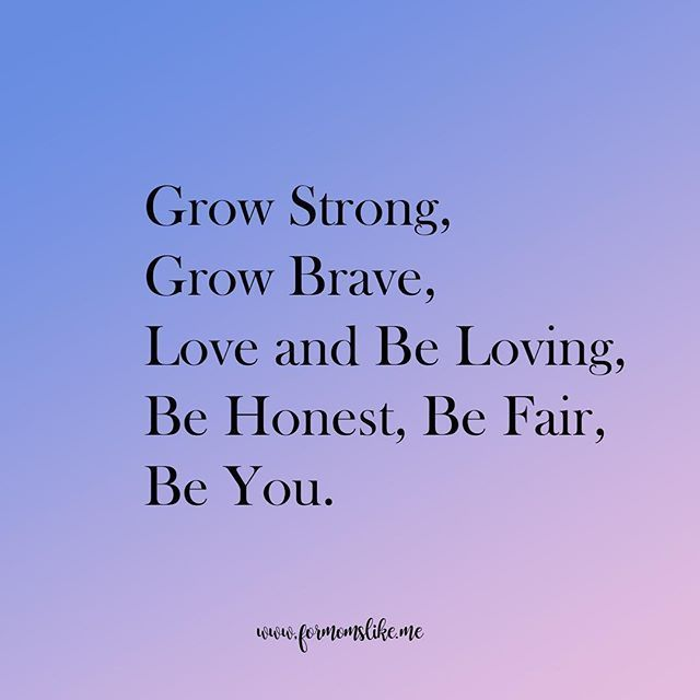 My wishes for my son: Grow strong, grow brave, love and be loving, be honest, be fair, be you.  #singlemoms #momsolo #singlemomlife #singlemom #wish #bravery #strength #honesty # #integrity #positivity