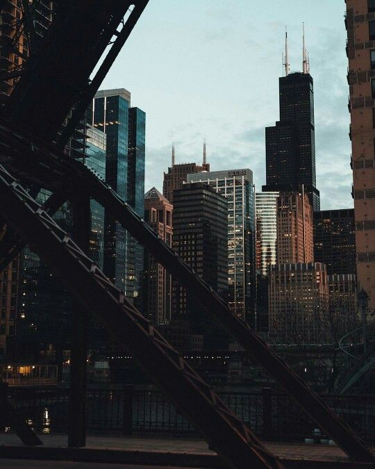 Chicago Skyline, pic courtesy of Choose Chicago.