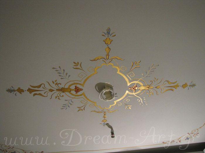 Ζωγραφική σε οροφή