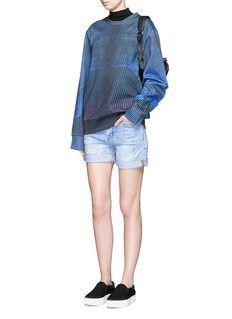 COCURATA Polyphasic print sweatshirt