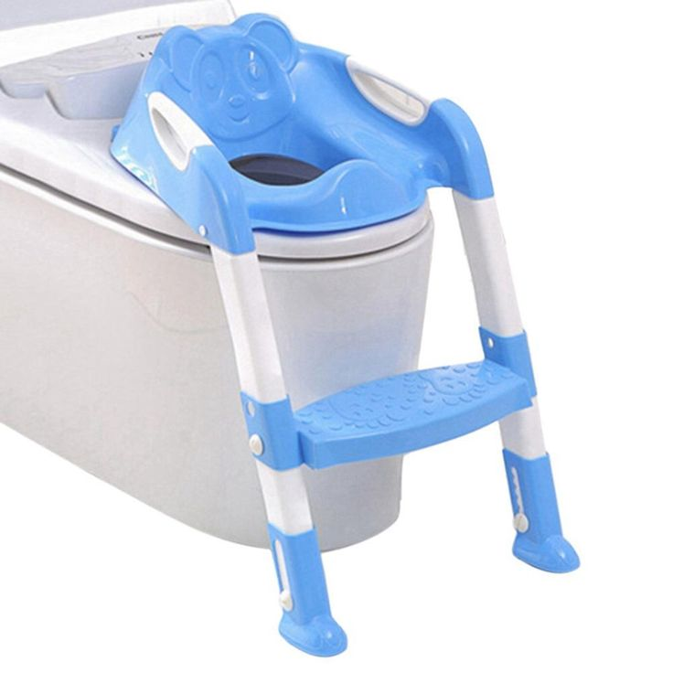 Baby Anti-skid Toilet Seat Safety Ladder Potty Chair