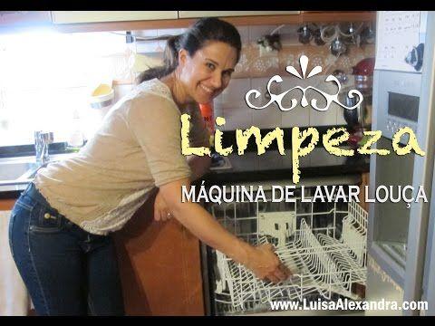 Luisa Alexandra: Limpeza • Máquina de Lavar Louça • VÍDEO