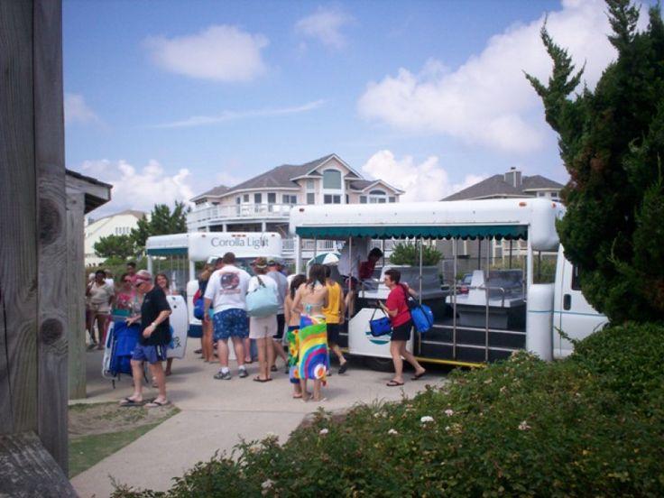 Trolley | Corolla Light Resort, Corolla, North Carolina
