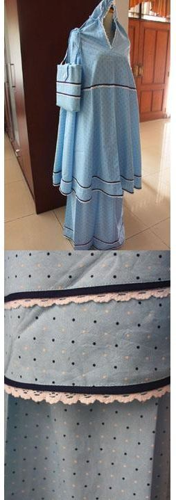 "MUKENA - MKA04. Bahan: Katun Jepang. Ukuran: All Size. ""SOLD OUT!"""