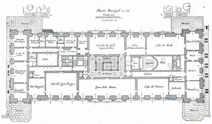 Liria Palace Principal Plan