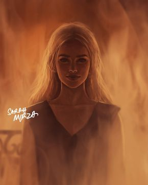 Amazing Illustration of Daenerys Stormborn from GOT Season 6 Scene by Sarah…