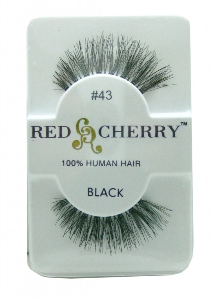 Red Cherry Lashes #43 -- compliments of Jaclyn Hill