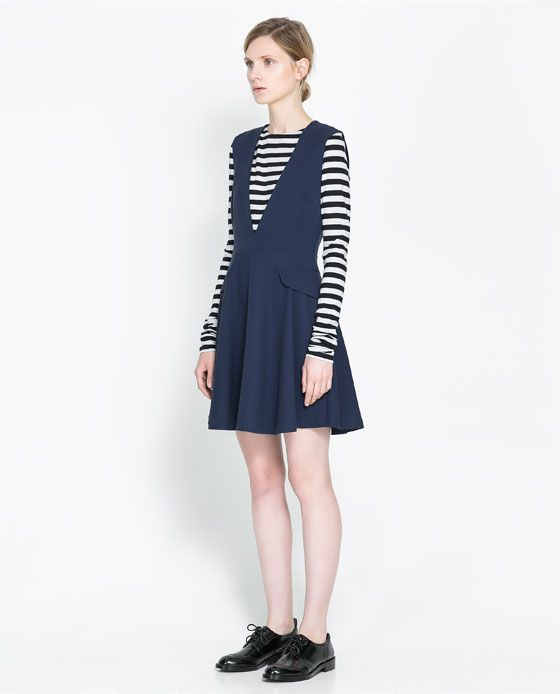 This dress would be so great to layer! Hello Turtlenecks, Tights, LongSleeve Tees, etc