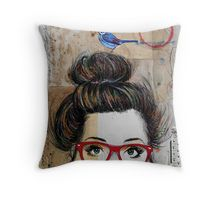 nevertheless Throw Pillow