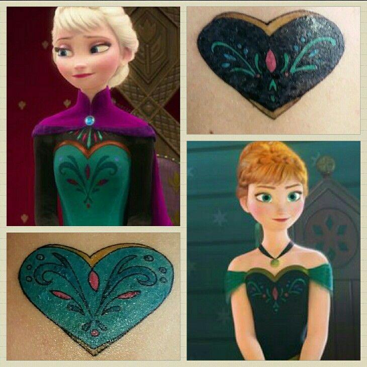 Disney Frozen Sister Tattoos