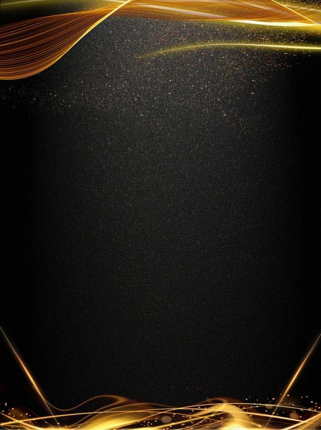Big Air Line Black Gold Lights Background Gold And Black Background Gold Design Background Gold Wallpaper Background