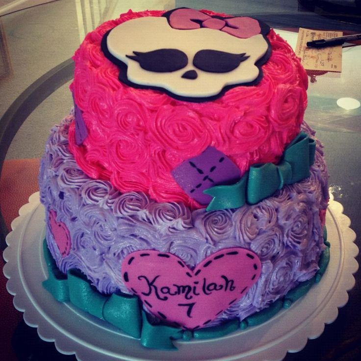 monster high cake | monster high cake this beautiful strawberry monster high cake is ...