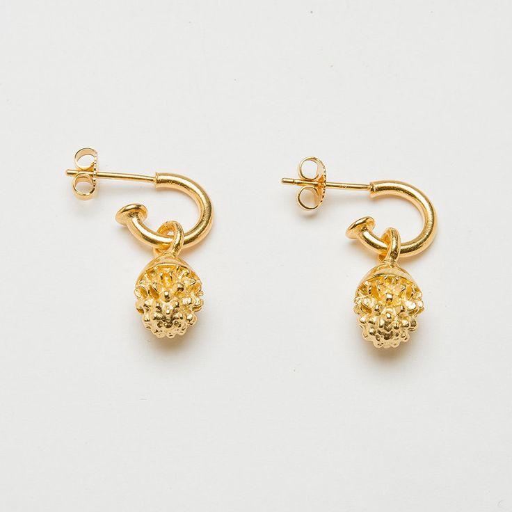 Acorn Drop Earrings Catherine Hills