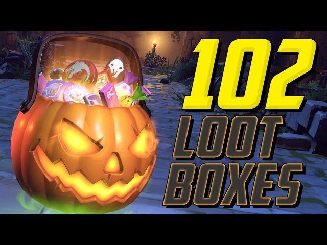 The 25+ best Overwatch halloween loot boxes ideas on Pinterest