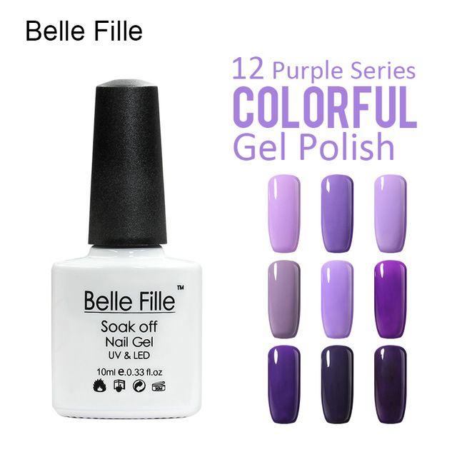 💬 #Belle #Fille #Лак Для #Ногтей #Гелем #УФ #Лак #Для #Ногтей #Профессиональный #База #Top #Фиолетовый  💰Цена: ₽117,53 руб. / шт  📦Заказать: http://ali.pub/xyb96