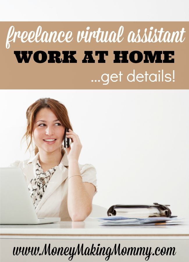Work at home as a freelance receptionist. You can have a flexible schedule and work right from your own comfy home! Read this full review and get details at MoneyMakingMommy.com.