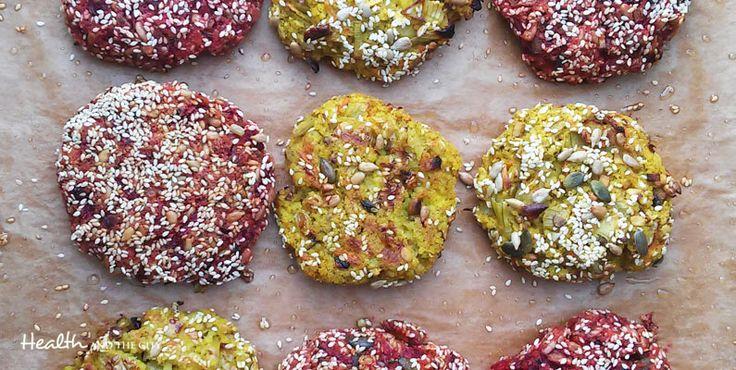 Wegańskie burgery: kotlety z buraków i kaszy jaglanej