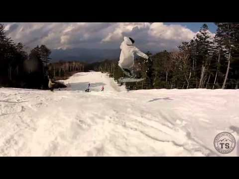 Buttering snowboard. Flat snowboard - YouTube