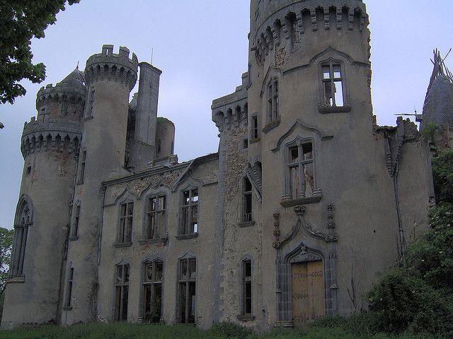 Abandoned France | Abandoned Castle, Bellac, France