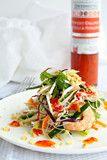 Shrimp Vermicelli Salad   Orange Chili Sesame Dressing