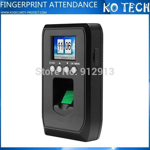 КО-H25 Быстро Доставить Офисное Оборудование Отпечатков Пальцев Посещаемость Времени Mahine