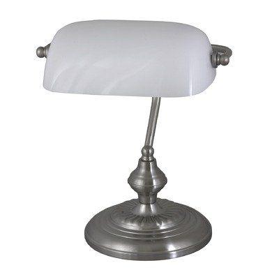 650 kr. (Spar 65 kr.) Fås også i grøn/bronze. Bank, writing desk lamp, H33, IP20, metal, glass Rabalux http://www.amazon.co.uk/dp/B006A58ZEM/ref=cm_sw_r_pi_dp_yAX3wb036EXFD