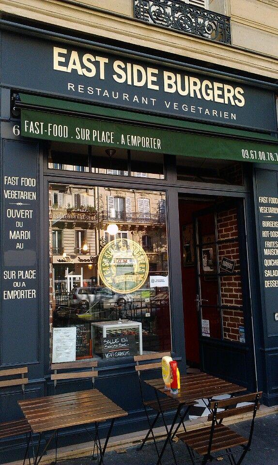 Best vegetarian burgers in Paris!! :D