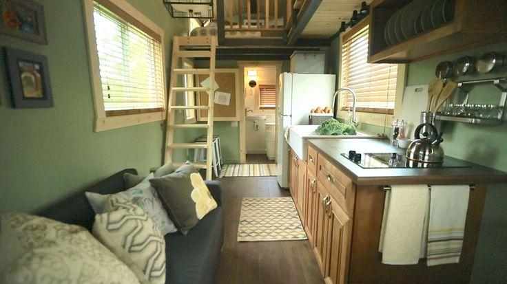 60 besten tiny house plans bilder auf pinterest kleine. Black Bedroom Furniture Sets. Home Design Ideas