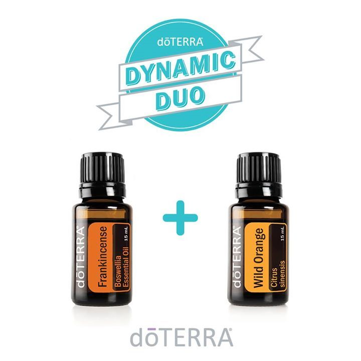 dōTERRA'S Wild Orange sweet fresh citrus scent blends well with Frankincense perfect for the 3PM lull.
