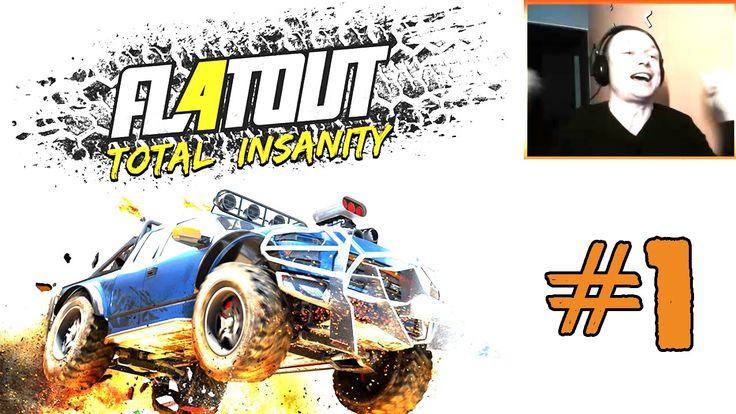 Зачетные гонки на машинах ☻FlatOut 4 Total Insanity обзор