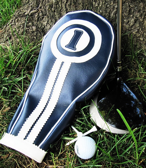 Golf Club Headcovers: The golfer in your life will love his custom made headcovers. Get the tutorial at Positively Splendid.