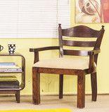 Easy Chair - Indian Solid Sheesham Wood Furniture | Saraf Furniture