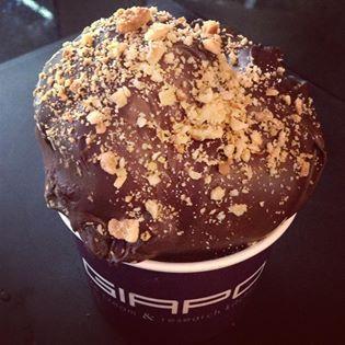 Warm ice-cream, Auckland - yes it exsists