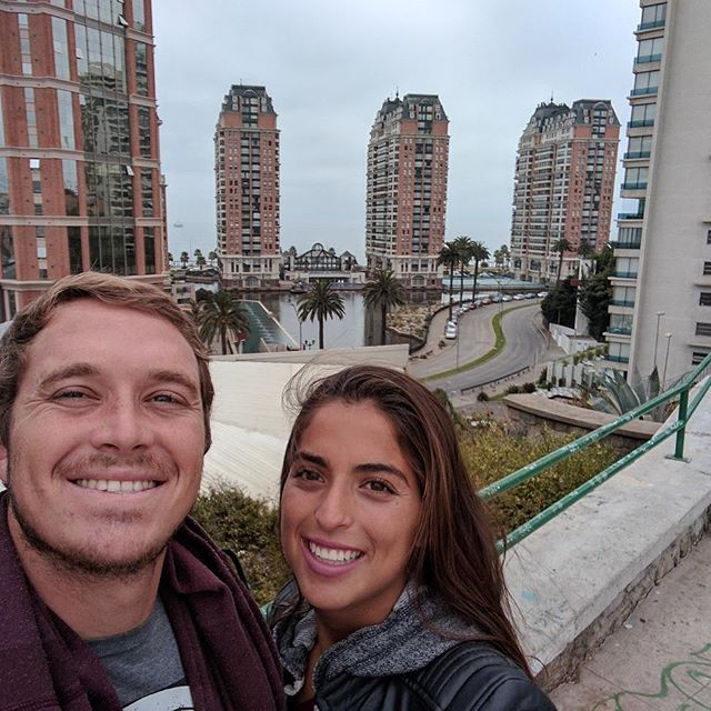 A couple things I've learned after graduation.... 1. I still can't grow a full beard  2. Driving a car in Peru is crazy 3. Traveling with your spouse is fun 4. My wife is still gorgeous 😍  #chile #viñadelmar #travel #viaje #viajar #playa #oceano #ocean #lifelessons #blog #blogger #bloglife #chilena #mia #latina #nofilter