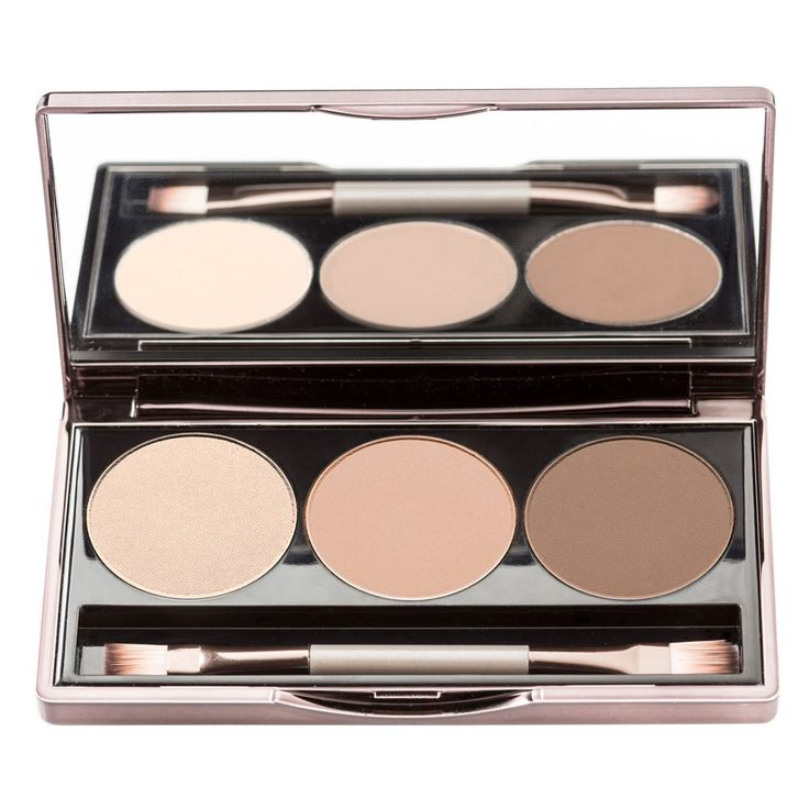 "Nude By Nature ""Ultimate Nude Eyeshadow Palette, Crème, Latte & Espresso"" 9 g"