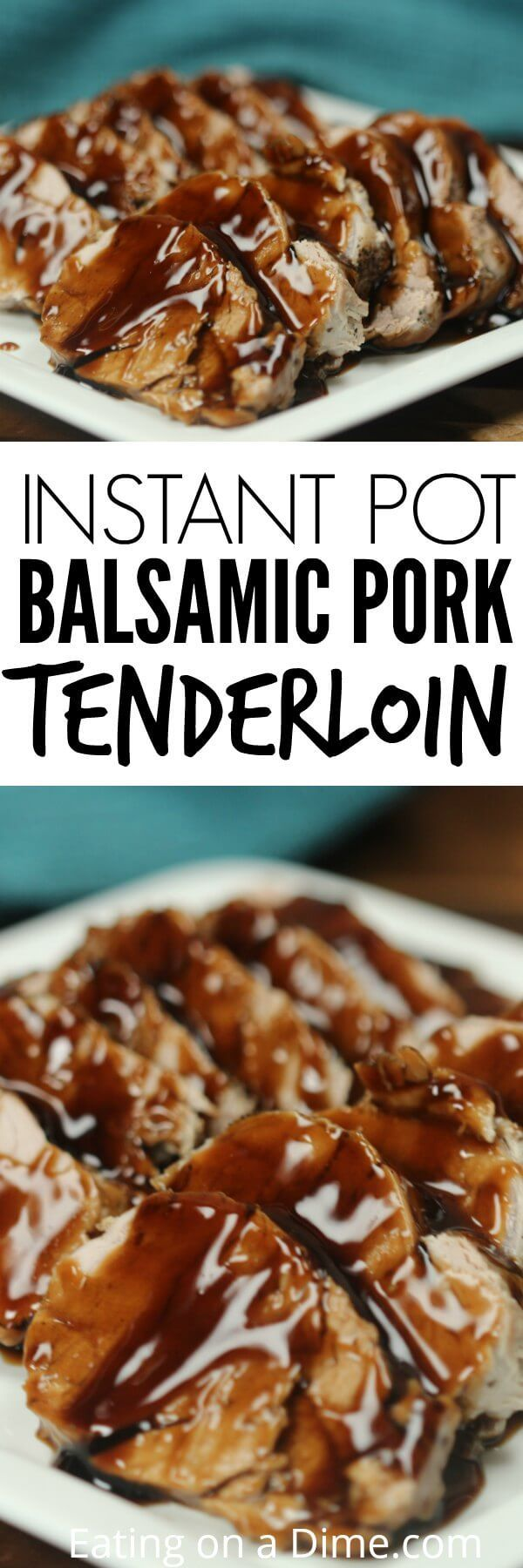 Try Pork Tenderloin Pressure Cooker Recipe for an amazing meal in minutes.The glaze on Instant pot balsamic pork tenderloin recipe is so tasty.Try it today!