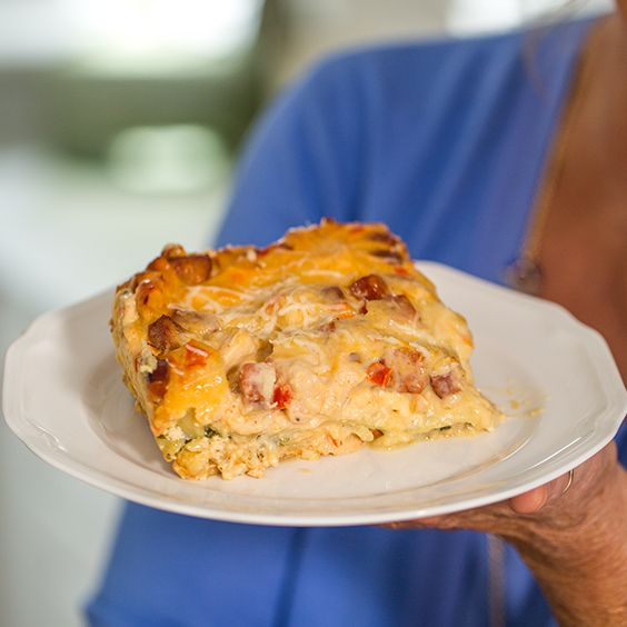 Paula Deen's Cajun Lasagna (use Dreamfields or omit noodles altogether to stay low-carb)