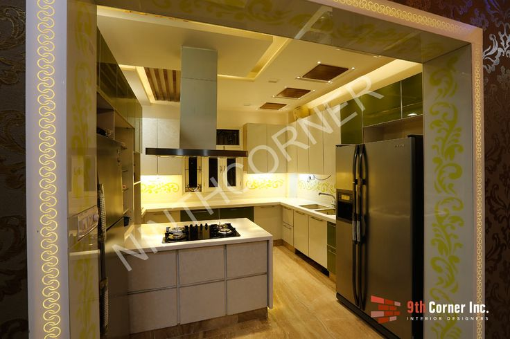 See More More Modular Kitchen Designs at http://www.ninthcorner.com