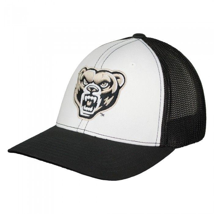 Oakland University Mesh Flex Fit Hat At Campus Den