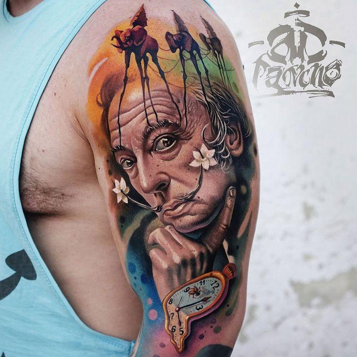 Salvador Dali Tattoo Dali Tattoo: Abstract Tattoos, Tatoos And