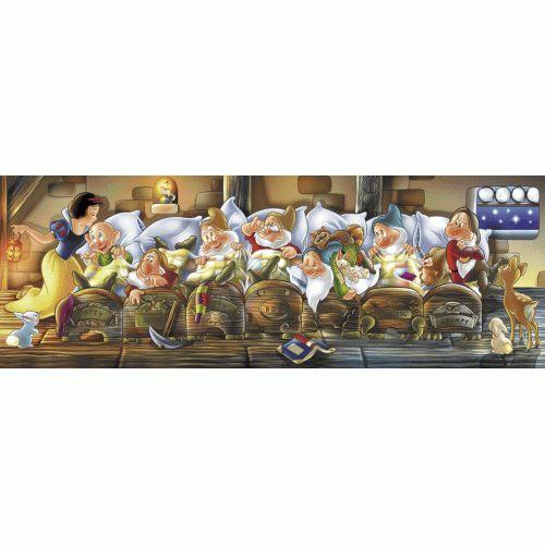 Clementoni Παζλ 1000  Disney- Πανοραμα - Xionath