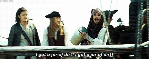 Did You Know This Scene Was Unscripted? Johnny Depp just kinda went with this and no one stopped him, so the reactions on the other actors' faces are their actual reactions to Depp's shenanigans. Day. Made. lol