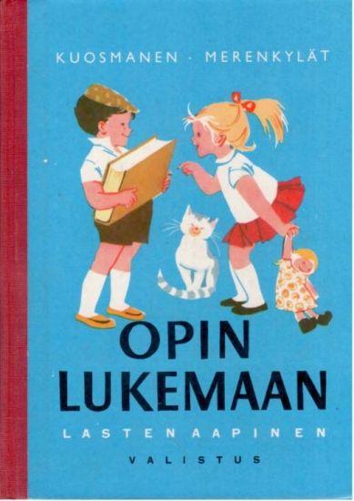Opin lukemaan lasten aapinen / Lasten- ja nuortenkirjat ...