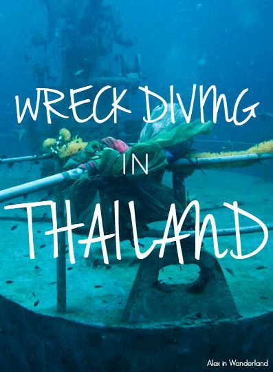 Exploring the dive site of the HTMS Sattakut wreck off the island of Koh Tao, Thailand. | Alex in Wanderland