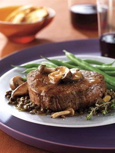 Recipe: Filet Mignon with Herb-Butter Sauce and Mushrooms - Recipelink ...