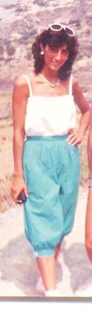 1982. Vacanza in Calabria I pantaloni erano all'odalisca