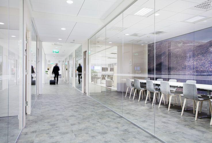 Finnair Crew Lounge — Workspace