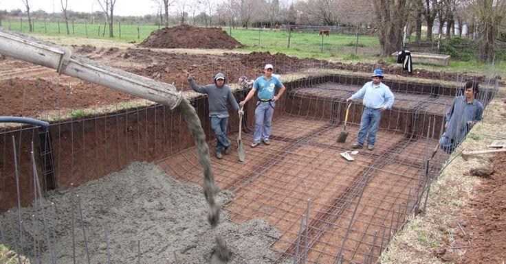 M s de 25 ideas incre bles sobre piscinas de hormigon en for Construccion de piscinas en mexico
