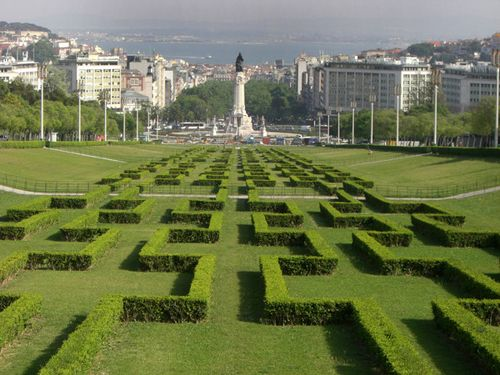 The Eduardo VII Park is a public park in Lisbon, Portugal paying homage to Edward VII of the United Kingdom who visited Portugal in 1902 to strengthen the relations between the two countries.